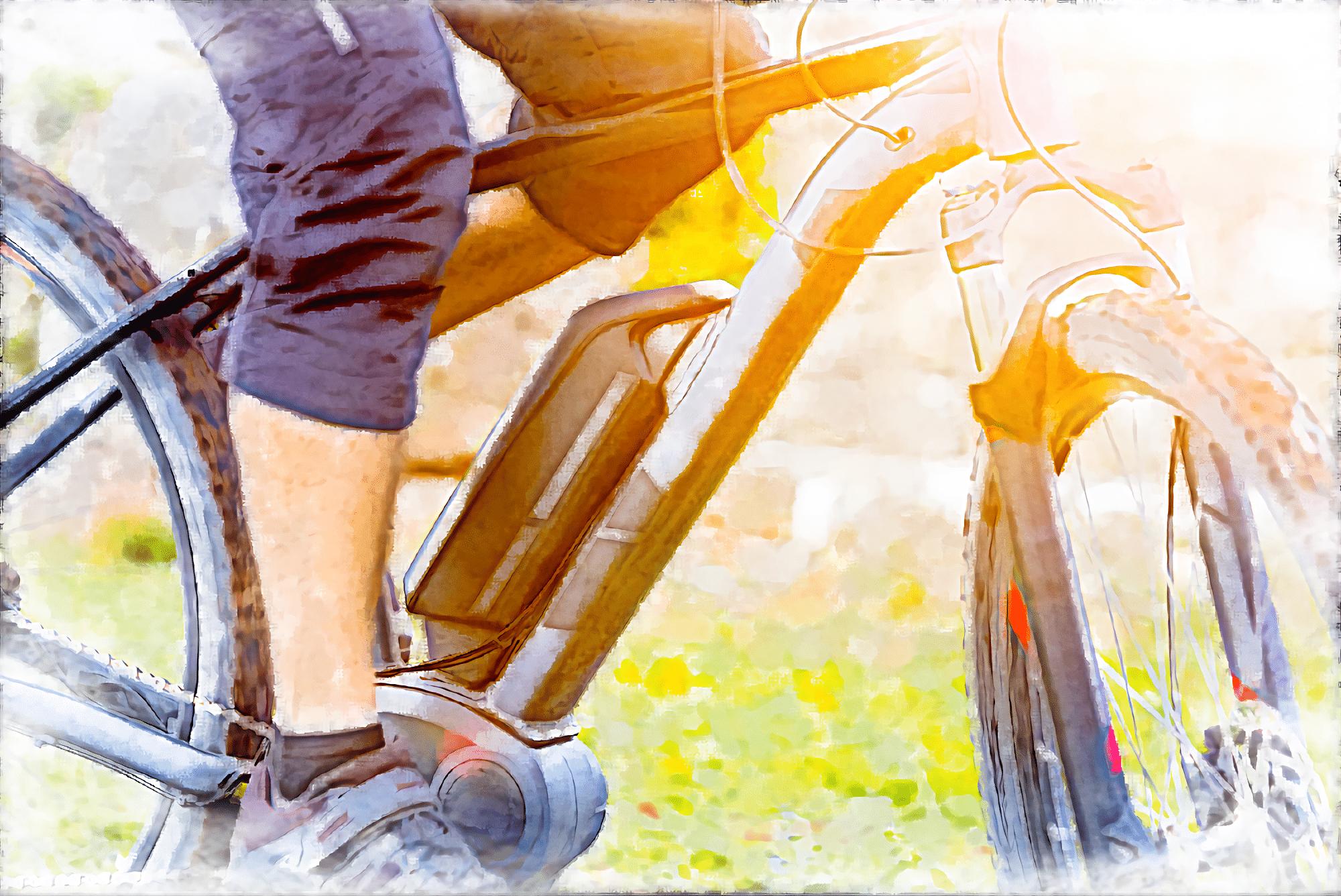 強いアシスト力で急な坂道も快適に走れるe-Bikeは健康維持にも役立つ!