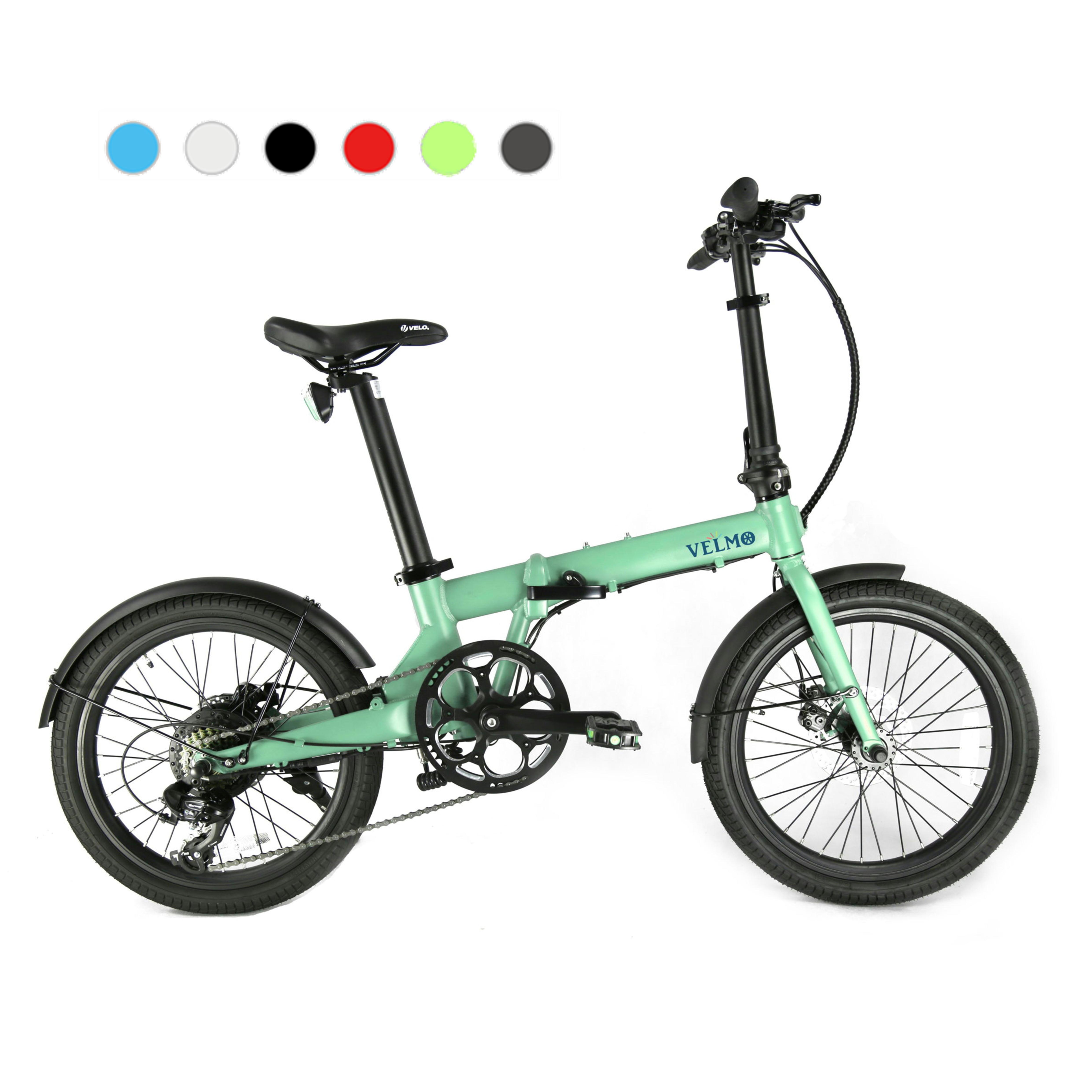 ミニベロタイプのe-Bike VELMO Q2 折り畳み電動自転車
