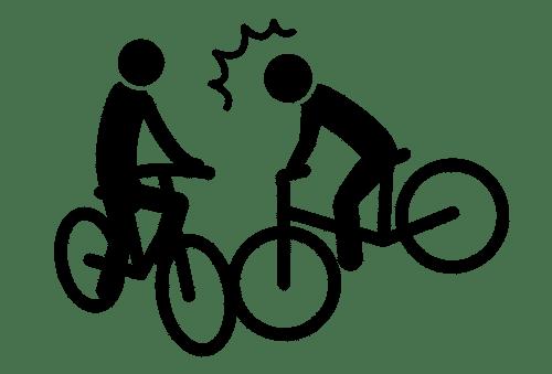 自転車事故アイコン